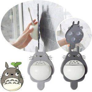 Totoro Suction Cup Holder Dark Grey